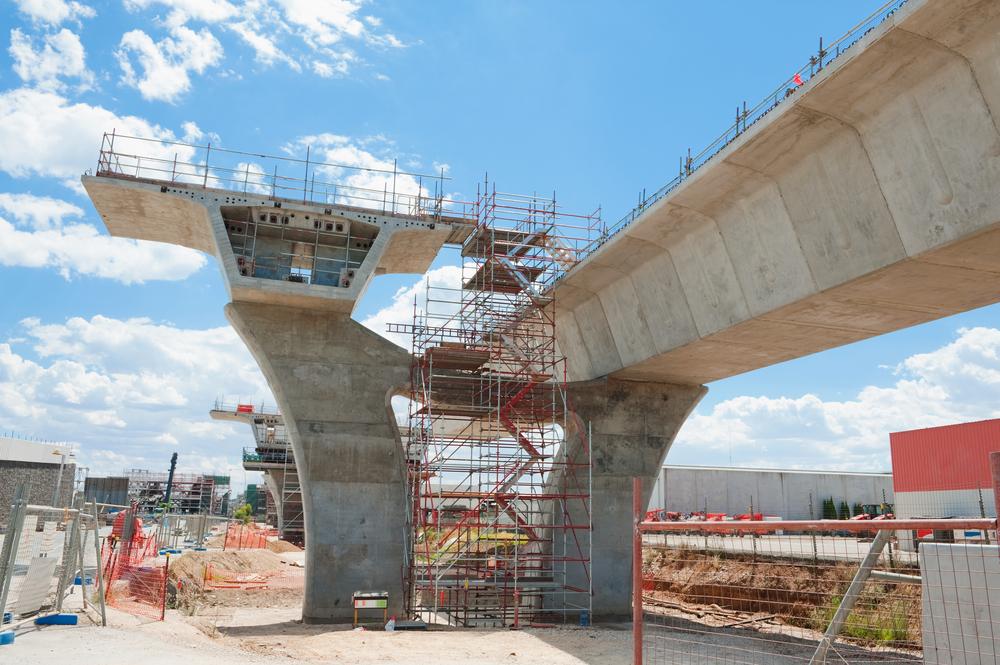 transportation and rail construction